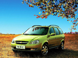 Images of Chevrolet Sail Station Wagon 2007–10