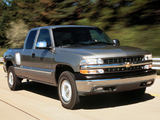 Chevrolet Silverado Flareside 1999–2002 images