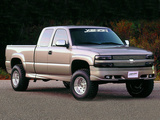 Xenon Chevrolet Silverado Extended Cab 1999–2002 wallpapers