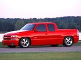 Chevrolet Silverado SST Concept 2002 images