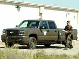 Chevrolet Silverado Hydrogen Military Vehicle 2005 pictures