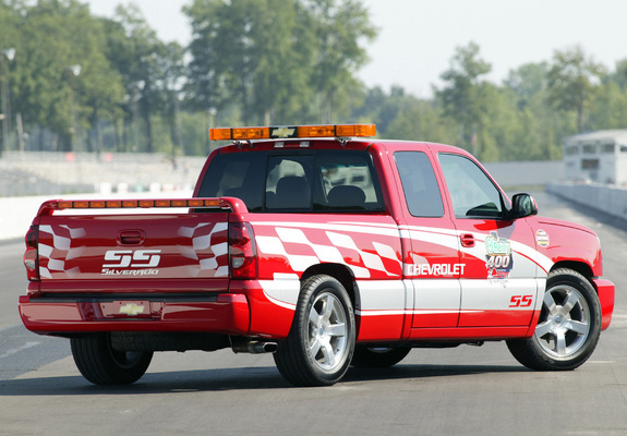Images Of Chevrolet Silverado Ss Extended Cab Oreilly 400 Pace Truck