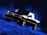Images of Chevrolet Silverado SS Extended Cab 2002–07
