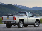 Images of Chevrolet Silverado Regular Cab 2007–13