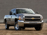 Images of Chevrolet Silverado 2500 HD Extended Cab 2007–10