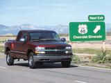 Photos of Chevrolet Silverado Flareside 1999–2002
