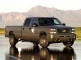 Photos of Chevrolet Silverado Hydrogen Military Vehicle 2005