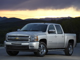 Photos of Chevrolet Silverado Crew Cab 2007–13