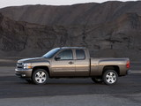 Photos of Chevrolet Silverado Extended Cab 2007–13