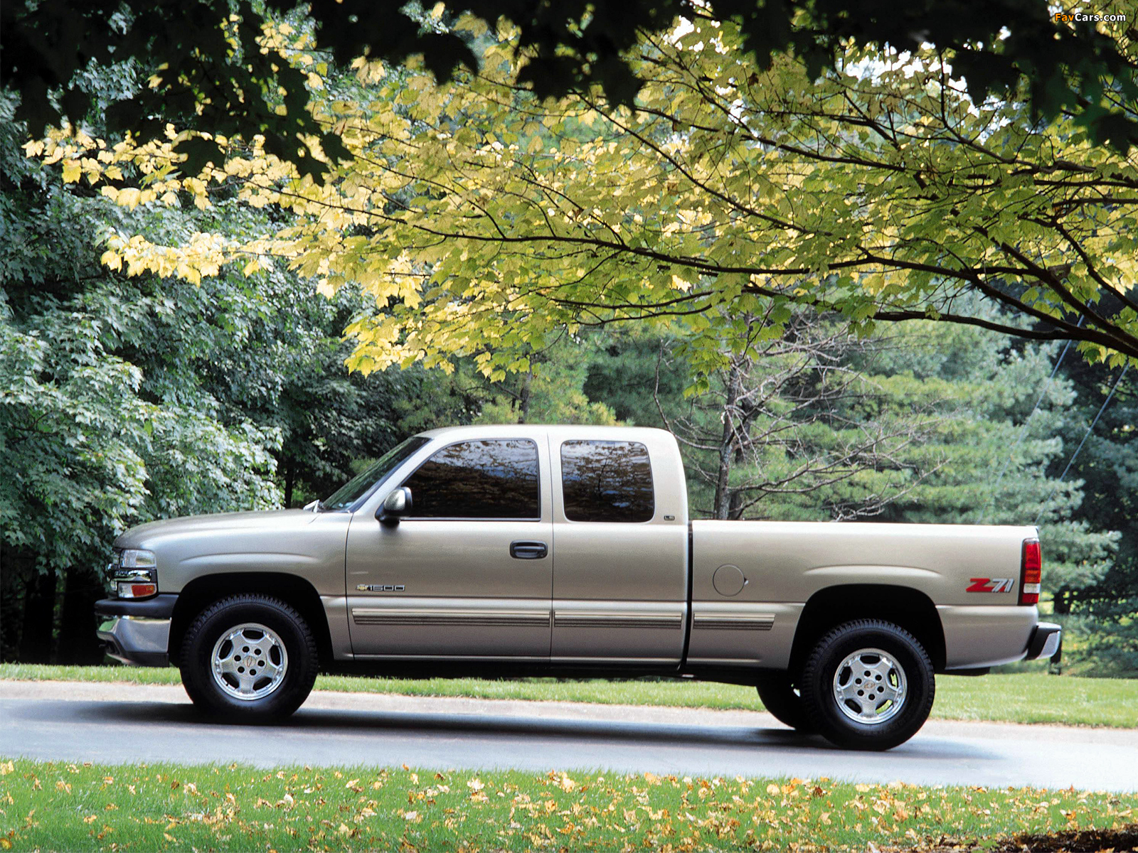 Pictures of Chevrolet Silverado Z71 Extended Cab 1999–2002 ...