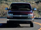 Pictures of Chevrolet Silverado Flareside 1999–2002