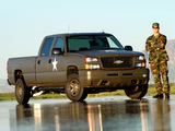 Pictures of Chevrolet Silverado Hydrogen Military Vehicle 2005