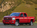 Pictures of Chevrolet Silverado 2500 HD Z71 Crew Cab 2010–13