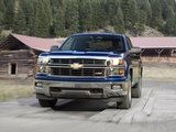 Pictures of Chevrolet Silverado Z71 Extended Cab 2013