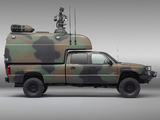 Chevrolet Silverado Military Vehicle 2004–07 wallpapers