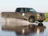 Chevrolet Silverado Hydrogen Military Vehicle 2005 wallpapers