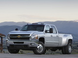 Chevrolet Silverado 3500 HD Crew Cab 2010–13 wallpapers
