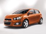 Chevrolet Sonic 5-door 2011 wallpapers