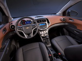 Chevrolet Sonic Sedan 2011 wallpapers