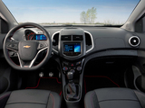 Chevrolet Sonic RS 2012 images