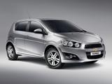 Images of Chevrolet Sonic 5-door 2011