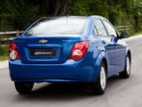 Images of Chevrolet Sonic Sedan TH-spec 2012