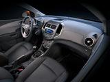 Photos of Chevrolet Sonic 5-door 2011