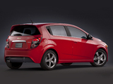 Photos of Chevrolet Sonic RS 2012