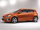 Pictures of Chevrolet Sonic 5-door 2011