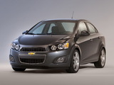 Pictures of Chevrolet Sonic Sedan 2011