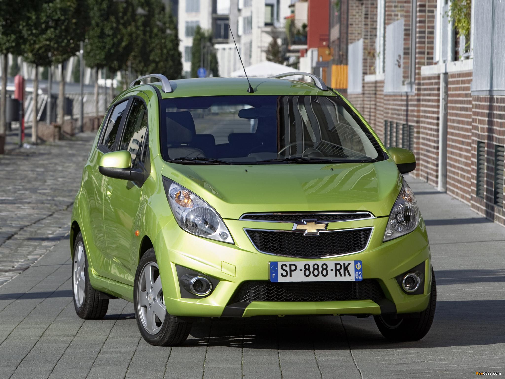 Chevrolet Spark (M300) 2010–13 images (2048 x 1536)
