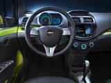 Images of Chevrolet Spark US-spec (M300) 2012