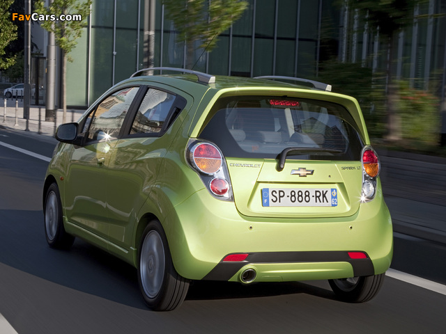 Pictures of Chevrolet Spark (M300) 2010–13 (640 x 480)