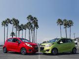Pictures of Chevrolet Spark US-spec (M300) 2012