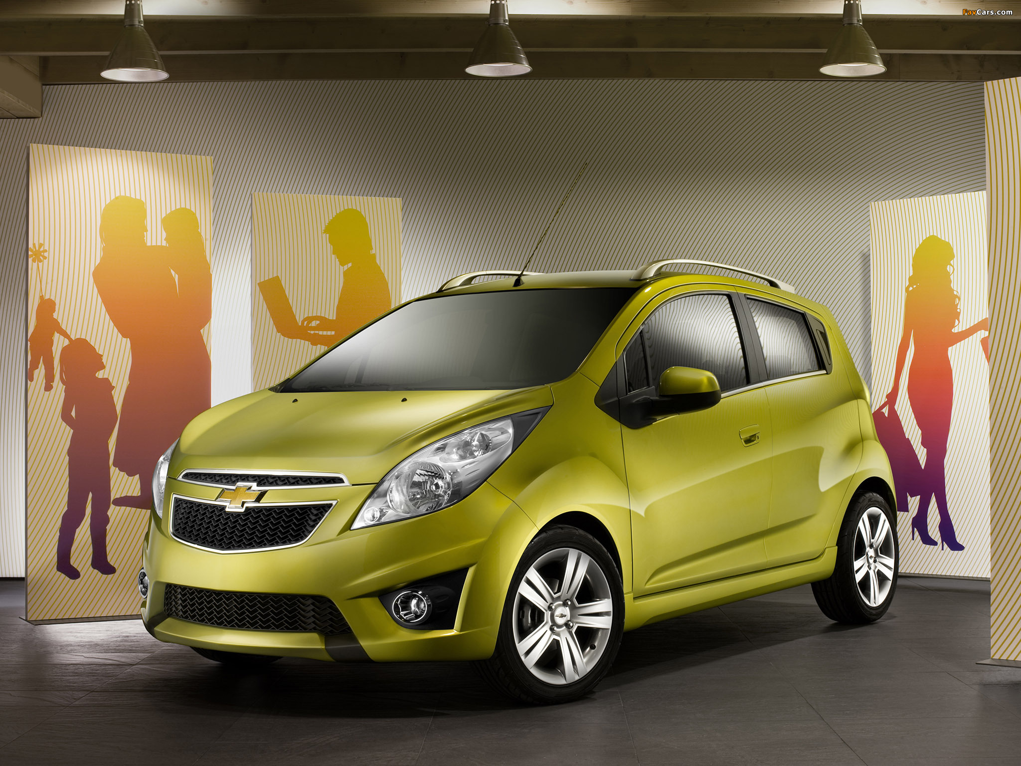 Chevrolet Spark (M300) 2010–13 wallpapers (2048 x 1536)