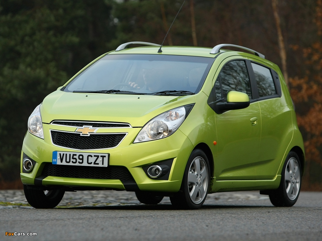 Chevrolet Spark Uk Spec M300 2011 Wallpapers 1024x768