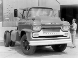 Chevrolet Spartan 90 Chassis Cab 1958 wallpapers