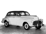 Chevrolet Special DeLuxe Sport Sedan (BH) 1942 pictures