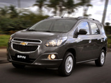 Pictures of Chevrolet Spin 2012