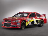 Pictures of Chevrolet SS NASCAR Sprint Cup Series Race Car 2013