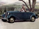 Chevrolet Standard Sport Roadster (EC) 1935 wallpapers