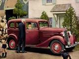 Pictures of Chevrolet Standard 4-door Sedan (EC) 1935