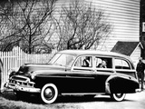 Chevrolet Deluxe Styleline Wood Wagon (2109-1061) 1949 wallpapers