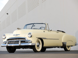 Chevrolet Deluxe Styleline Convertible (2134-1067) 1951 pictures