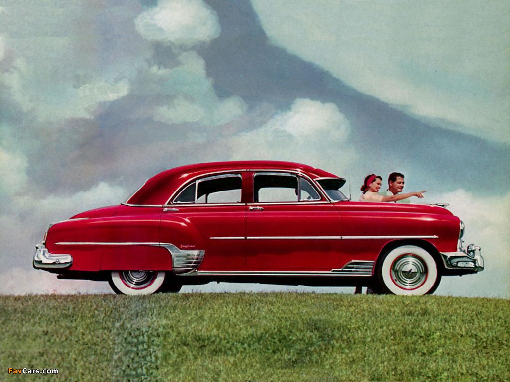 Images of chevrolet styleline deluxe 4 door sedan 1952 for 1952 chevy 4 door