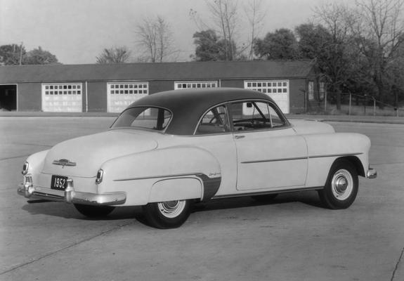 Chevrolet styleline deluxe 2 door sedan 2102 1011 1952 for 1952 chevrolet styleline deluxe 2 door sedan