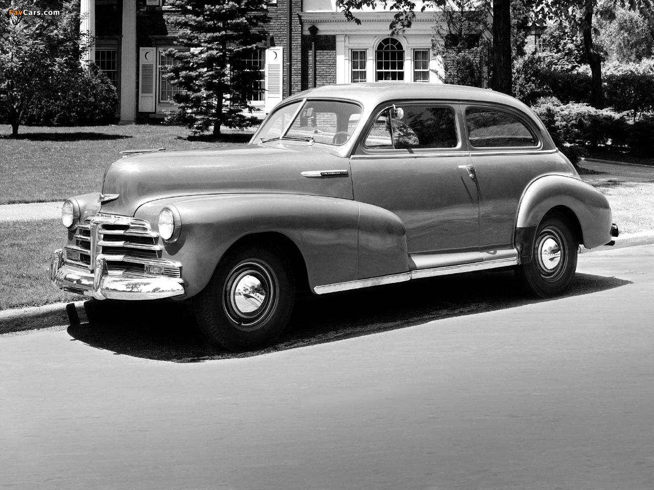 All Chevy chevy 2 door : Pictures of Chevrolet Stylemaster 2-door Town Sedan 1948 (1280x960)