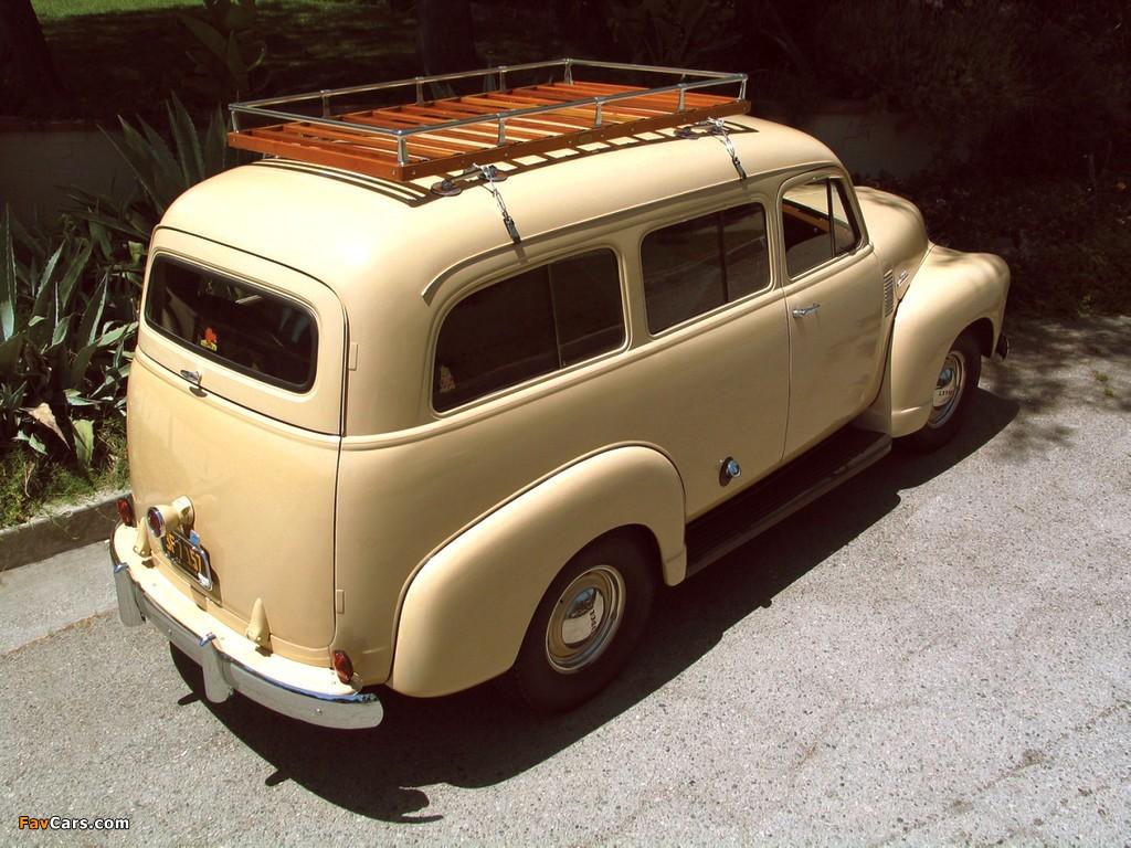 Subarban >> Chevrolet Suburban Carryall 1947–54 wallpapers (1024x768)