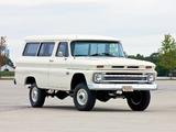 Chevrolet Suburban 4WD 1961–66 pictures
