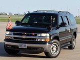 Chevrolet Suburban 2500 Armored Presidential Security Car (GMT800) 2006 wallpapers